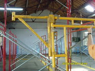 Chiny Heavy Duty Scaffolding Frames With Powder Coated Side Brackets 1524x1524xΦ42x2.3mm fabryka