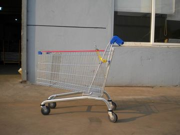 Chiny 232L Zinc Plated Supermarket Shopping Cart Trolley High Capacity fabryka